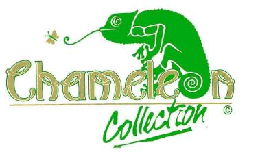 Green Wallpaper | Chameleon Collection